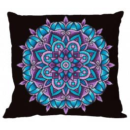 Cross stitch kit - Pillow - Mandala of power