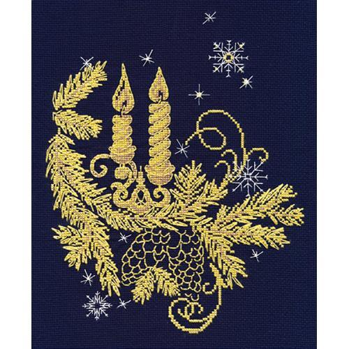 Cross stitch kit - Golden glow
