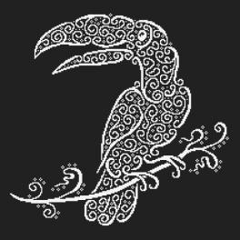 ONLINE pattern - Lace toucan