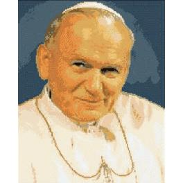 Pope John Paul II - Tapestry canvas