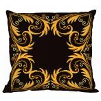 ONLINE pattern - Pillow - Golden arabesque