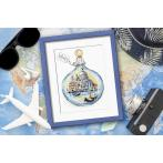 ZN 10401 Kit with tapestry and mouline - Souvenir from Venice