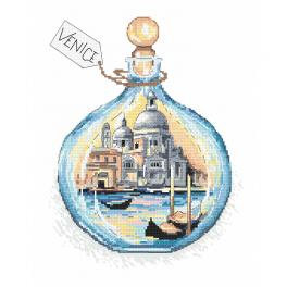 Cross stitch kit - Souvenir from Venice