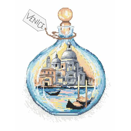 Cross stitch kit - Souvenir from Venice