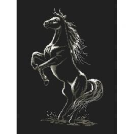 Cross stitch kit - Enchanted horse