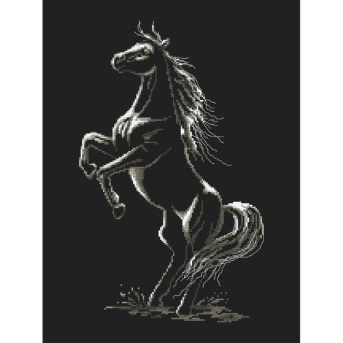 Cross stitch kit - Enchanted horse