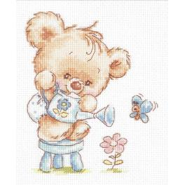 Cross stitch kit - My flower