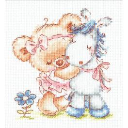 Cross stitch kit - I love my horse