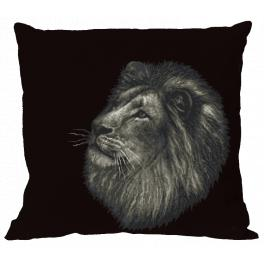 ZU 10603-01 Cross stitch kit - Pillow - Lion