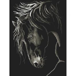 Cross stitch kit - Stately horse