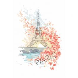 Cross stitch kit - Parisian charms