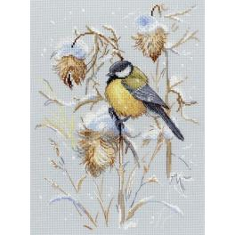 Cross stitch kit - Snow time