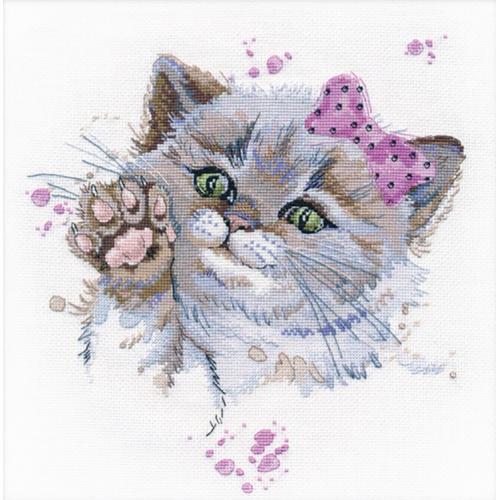 Cross stitch kit - Cutie