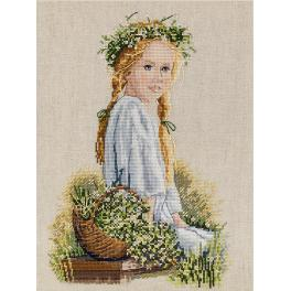 Cross stitch kit - Dasies