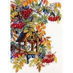 Cross stitch kit - Colourful rowan