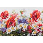 Cross stitch kit - Field beauties