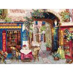 Cross stitch kit - Cafe in Verona