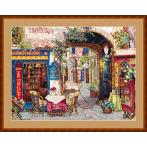 Cross stitch kit - Cafe in Verona