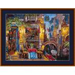 Cross stitch kit - Our special place in Venice