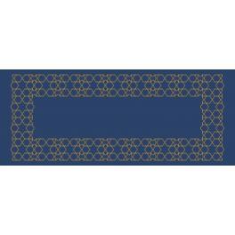 Online pattern - Moroccan table runner III