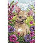 Cross stitch set - Chihuahua