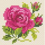Diamond painting kit - Pink rose