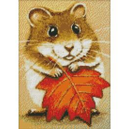 Diamond painting kit - Hamster