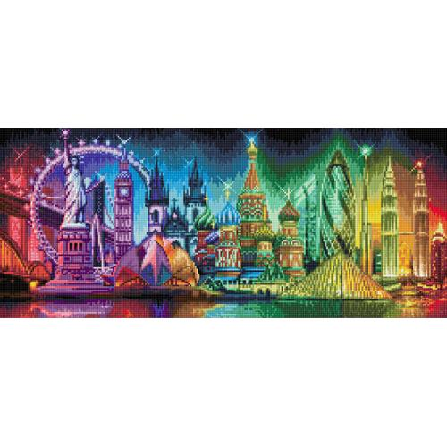 Diamond painting kit - Colours of the world