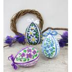 Pattern online - Easter egg with daisies