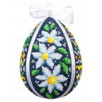 GU 10606 Cross stitch pattern - Easter egg with daisies