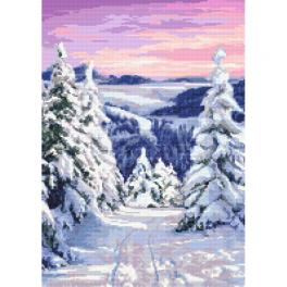 Cross stitch kit - Fairy-tale winter