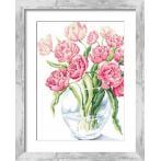 Cross stitch pattern - Fabulous tulips