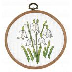 Cross stitch pattern - Spring snowdrop