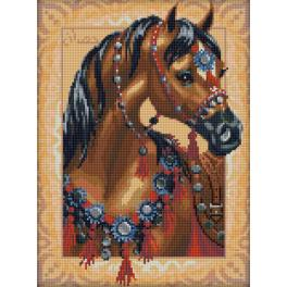 Diamond painting kit - Arabian horse