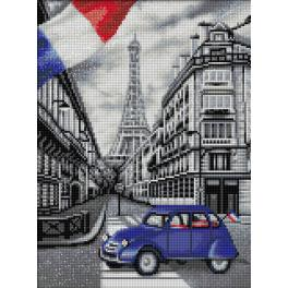 Diamond painting kit - Paris street