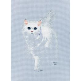 ZTM 780 Cross stitch kit - Lightsome cat