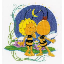 VPN-0150138 Cross stitch kit - Night kiss