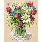 Cross stitch kit - Bouquet