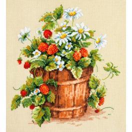 Cross stitch kit - Taste of summer