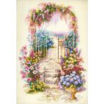 Cross stitch kit - Entrance to the garden
