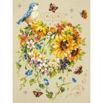 Cross stitch kit - Inspiration of your heart