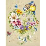 Cross stitch kit - Melody of your heart