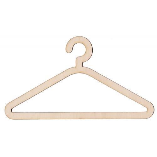 Wooden hanger 20cm coat hanger