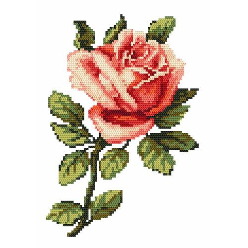 Online pattern - Rose - B. Sikora-Malyjurek