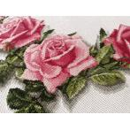 Pattern ONLINE - Tablecloth with roses 3D