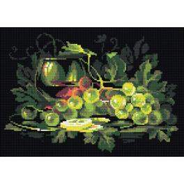 RIO AM0026 Diamond painting kit - Still life with lemon