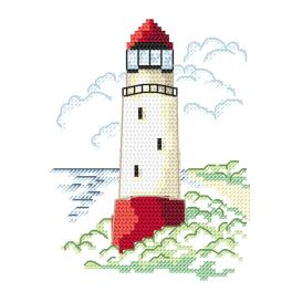 Cross stitch kit - Landscape with sea light I