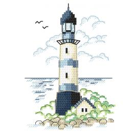 Cross stitch kit - Landscape with sea light II