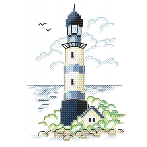 Z 8653-02 Cross stitch kit - Landscape with sea light II
