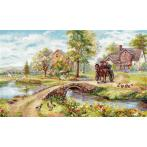 Cross stitch kit - Sunday walk